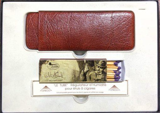 غلاف نگهداری(هومیدور)و حمل سیگاربرگ 1