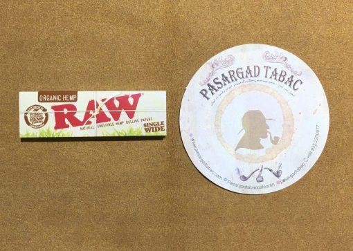 کاغذ سیگار پیچ ارگانیک RAW 1