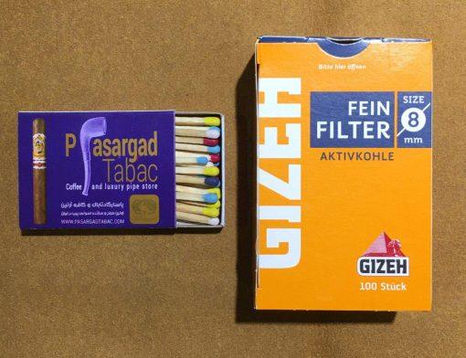 فیلتر ذغالی سیگارپیچ 1
